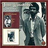 JESSE WINCHESTER - LEARN TO LOVE IT (74)/LET THE ROUGH SIDE DRAG - EDSEL 2on1 CD