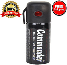 100% NEW Commander Self Defense Pepper Spray For Women & Men,Personal Protection