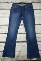 Lucky Brand Jeans Charlie Baby Boot Cut Dark Wash Womens Size 4 | 27 x 33