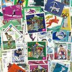 Collection de timbres international oblitéré thématique sport monde jo personnel