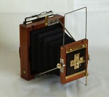 "4x5"" Folding  camera with pinhole ""lens"""