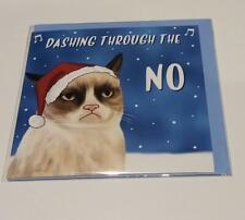 URBAN OUTFITTERS Grumpy Cat Christmas Funny Novelty Card new RRP £4
