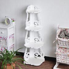 4 Tier Ladder Shelf Corner Shelves Bookcase Plant Flower Shelving Units Wooden