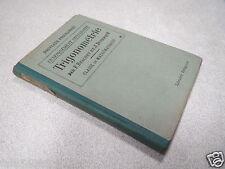 TRIGONOMETRIE BRACHET DUMARQUE classe de mathématiques 1938 *