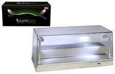 10' COLLECTIBLE DISPLAY SHOW CASE LED LIGHTS SILVER 1/24 1/64 BY ILLUMIBOX 10002