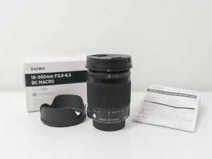 Sigma 18-300mm F3.5-6.3 DC Macro OS Lens for Nikon DX ~Excellent Condition