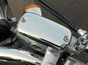 Honda Shadow 600 750 1100 Magna Aero VTX VT 1300 Sabre Fury CHROME FLUID CAP
