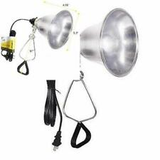 Simple Deluxe Clamp Lamp Light with 5.5 Inch Aluminum Reflector up to 60.