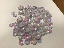 10g x 6mm Cupped Flower Sequins for DIY card fashion embroidery & craft projects