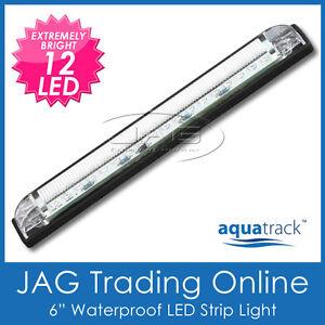12V 12-LED STRIP LAMP - Boat/Cabin/Interior/Truck/Trailer/Exterior/Marker Light