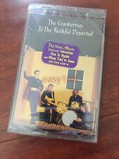 New The Cranberries to the Faithful Departed Cassette Tape Sealed Salvation 1996