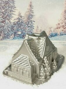 NORDIC WARE Christmas House Tin Aluminium Gingerbread Bundt Pan Sold Out