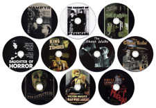10 x DVD Horror Film / Movie Collection: Frankenstein, Man Who Laughs, Vampyr...