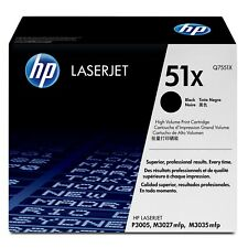 Genuine HP Q7551X 51X Black Toner for LaserJet M3027 M3035 PRISTINE!