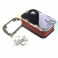 """Carburetor AIR FILTER 65mm 2""""1/2 cleaner for WEBER DGV, DGAV, DGEV, DGAS, DGMS"""