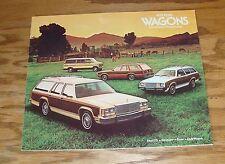 Original 1979 Ford Station Wagon Sales Brochure 79 LTD Fairmont Pinto