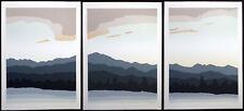 "Jim Boutwell ""Chinook I, II, III"" Triptych of 3 Signed ltd ed Art Serigraphs"