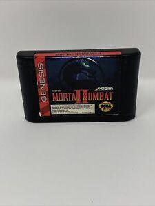 MORTAL KOMBAT II 2 Sega Genesis 1994 Cart Only Tested