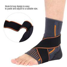 Ankle Support Brace Compression Breathable Foot Elastic Guard Strap L Fitness