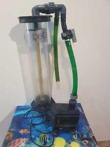 Deltec FR 509 Wirbelbettfilter mit Eheim Pumpe Filter Aquarium Fließbettfilter