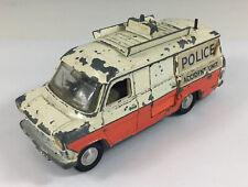 Vintage Dinky Toys Ford Transit Police Van Accident Unit Playworn 12cm In Length