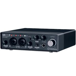 Steinberg UR22C 2IN/2OUT USB 3.0 Type C Home Audio Recording Interface