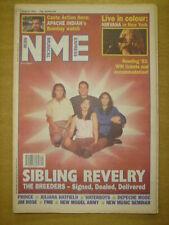NME 1993 AUG 7 BREEDERS APACHE INDIAN NIRVANA PRINCE