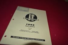 Ford Major Diesel Tractor I&T Shop Manual DCPA3