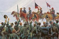 Mort Kunstler Lee's Lieutenants Limited Edition Civil War Print S/N