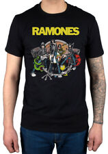 Official Ramones Road To Ruin T-Shirt End Of The Century Bad Drain Acid Eaters