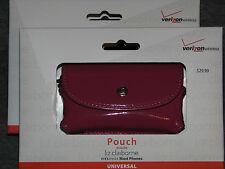 NIB Liz Claiborne Verizon Wireless Universal Cell Phone Pouch Bag Wristlet Pink