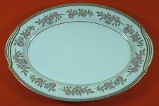 "* Noritake Cordell 13 3/4"" Oval Serving Platter (Other Pieces Available) Japan"