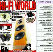 HI-FI WORLD QUAD II SIMAUDIO MOON 600i EPOS ENCORE 50 TECHNICS ST9600 DENON 2010