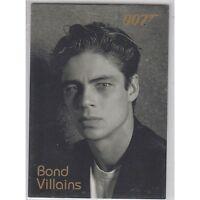 James Bond Dangerous Liaisons - Bond Villains F36 Benicio Del Toro as Dario