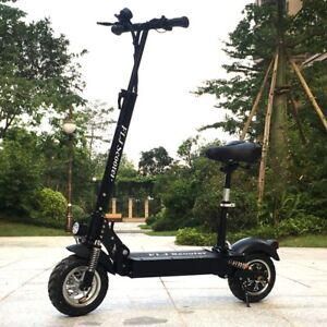 FLJ 72V 7000W 35A/H Electric Scooter with Dual Engines Motors Top Speed 60Mph