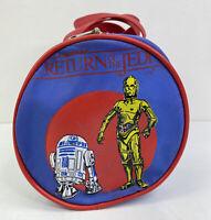 Vintage 1983 STAR WARS Return of the Jedi R2-D2 and C-3PO Duffel Bag DA92984