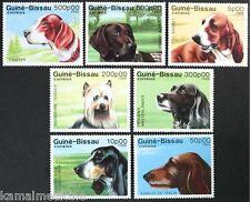 GUINEA BISSAU 1988 MNH 7v, Dogs, Domestic Animals  -  Da22