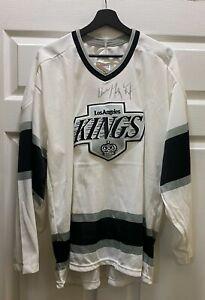 Wayne Gretzky Signed Los Angeles Kings CCM Jersey Autographed Sz XL JSA LOA HOF