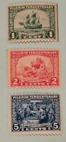 Scott#: 548-550 - 1920 Pilgrim Tercentenary Mint NH OG Single Stamp Set - Lot 2