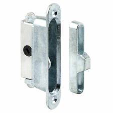 Prime-Line Metallic Indoor and Outdoor Door Lock Keeper Aluminum 1