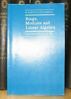 Rings, Modules and Linear Algebra (Mathematics) by Hawkes, T.O. Paperback Book