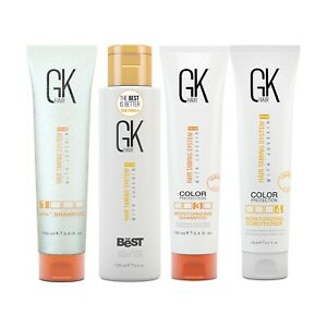 Global Keratin The Best Hair Smoothing and Straightening Treatment Kit 3.4oz