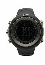 Nike Oregon WA0030 Digital Dark Ladies Regular Series Black Sports Fitness Watch