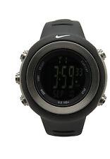 Nike Oregon WA0030 Digital Dark Regular Series Black Sports Fitness Watch