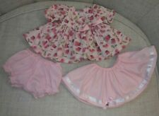 PINK Hearts Dress Set For  My Child Doll (Doll NOT included!)