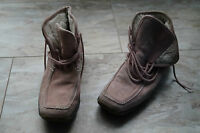 warme TAMARIS Damen Winter Schuhe Stiefel Boots wildleder gefüttert Gr.38 rosa