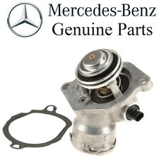 For Mercedes W164 V6 M272 Engine Coolant Thermostat & Housing & Gasket GENUINE