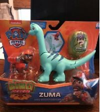 New Paw Patrol Dino Rescue Zuma and Brontosaurus Surprise Egg In Hand! Htf!