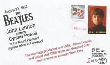 VERY LAST 23 AUG '62 Beatles John Lennon Marries Cynthia Powell #5 of 5 Cover