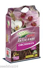 10l AKTIV-ERDE CUXIN Orchidee Weißtorf - Qualitätserde Myko-Aktiv Orchideenerde